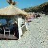 Анапа пляж Высокий берег начало августа массажный павильон